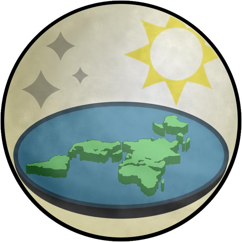 The+Flat+Earth+Society%27s+Logo