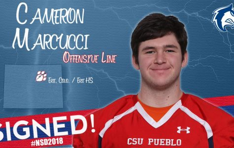 Cameron Marcucci is heading to CSU Pueblo