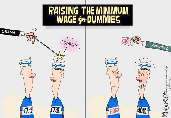 Increasing Minimum Wage Raises More Than Our Salaries