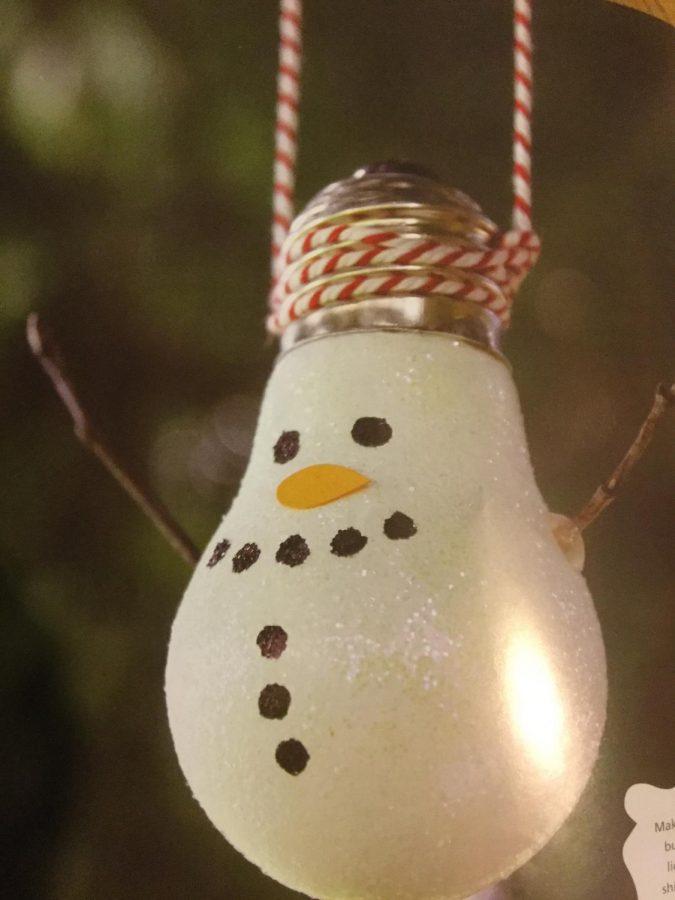 Snowman+ornament