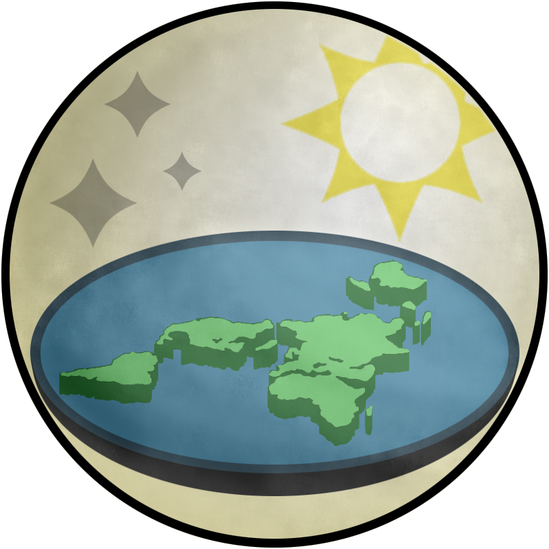 The Flat Earth Society's Logo