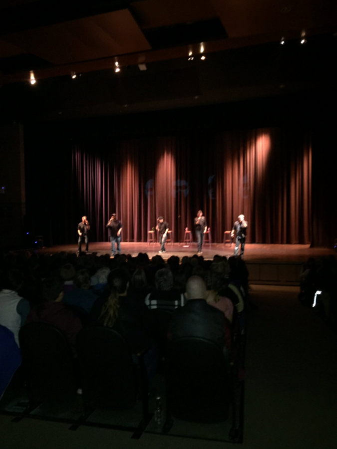 FACE performs at EHS.
