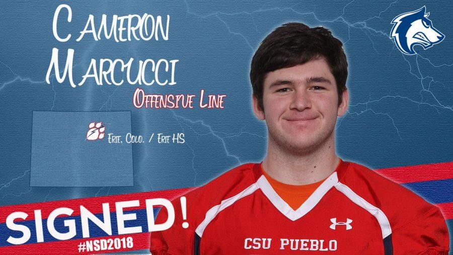 Cameron Marcucci is heading to CSU Pueblo