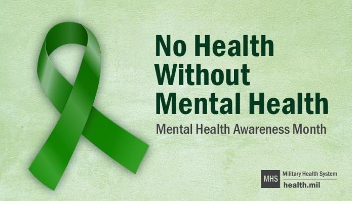 Public Domain - Mental Health Awareness logo