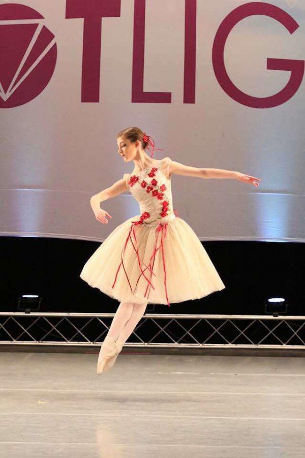 Amy Hood doing ballet