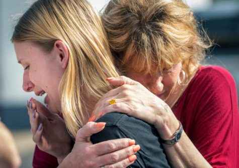 Students in grief after shooting and killings