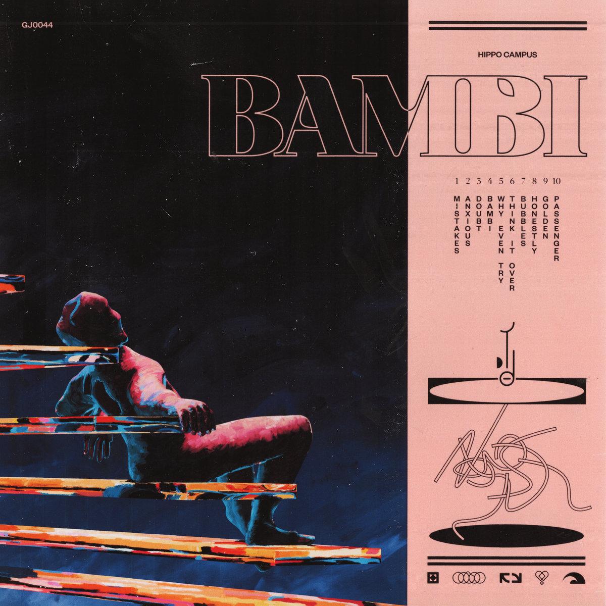 Bambi album cover art.