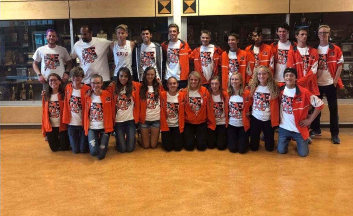 The Erie Cross Country 2018 State Championship Team