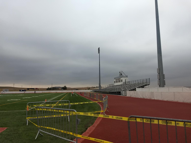 Track in progress
