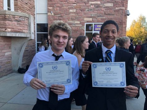 Freshman Take Home Model UN Awards at First Conference