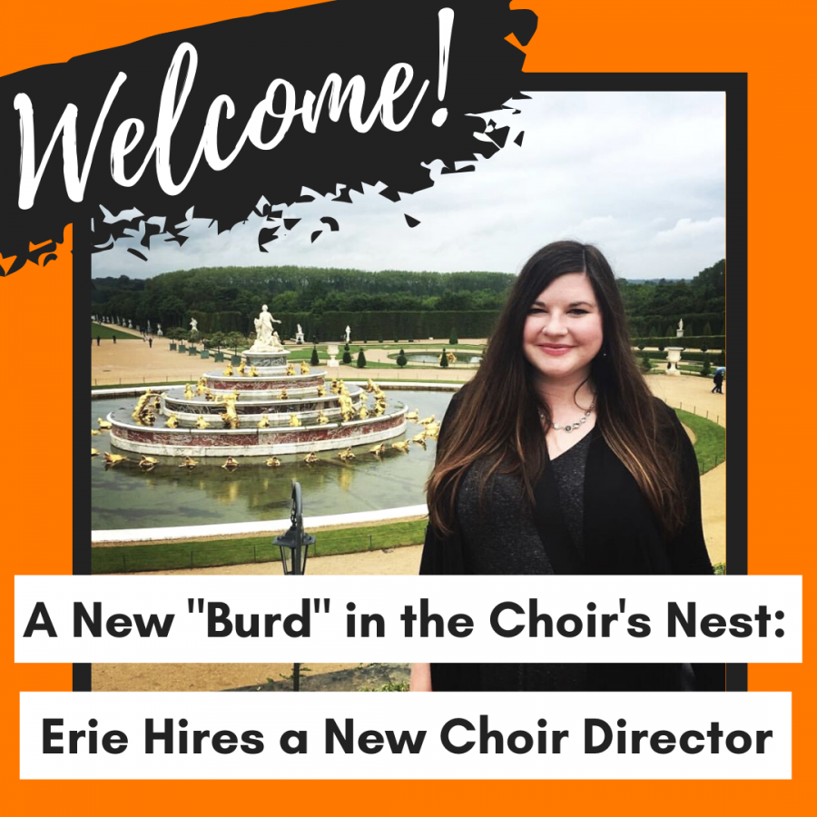 "A New ""Burd"" in the Choir's Nest: Erie Hires a New Choir Director"