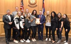 EHS Softball Team Honored with Erie Tiger Day