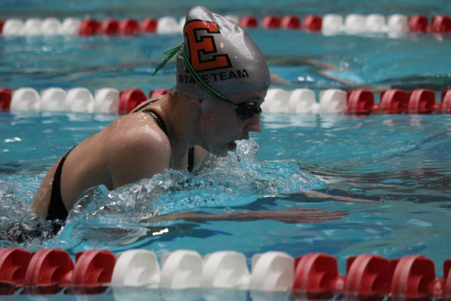 Girls State Swim Preliminaries Recap