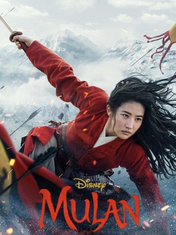 Mulan Movie cover from Disney