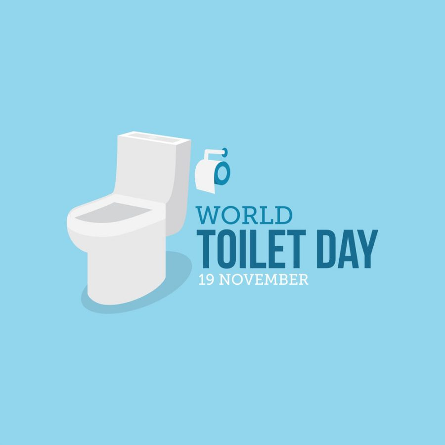 World Toilet Day graphic designed by Waterless Co. Inc