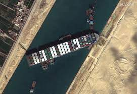 The Longterm Effects of The Suez Canal Blockage