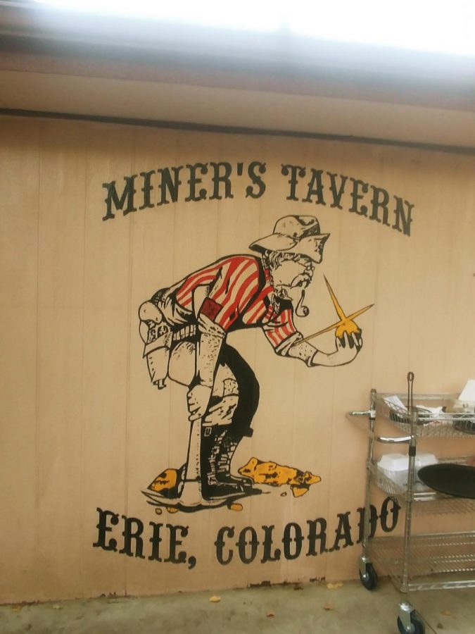 Mural On The Back Porch Of The Miners Tavern